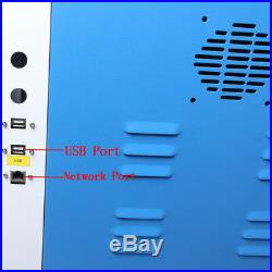 1000x600mm DSP System 100W Laser Cutter Engraving Machine 80mm 3-JawRotary