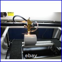 100W 1060 CO2 Laser Cutting Machine RUIDA Auto-Focus CW-5000 Chiller US Stock