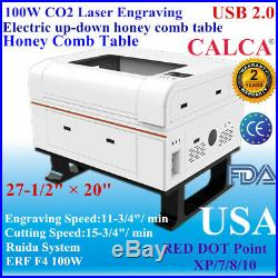100W 700500mm CO2 Laser Cutter Engraver Laser Engraving Machine FDA ROTARY