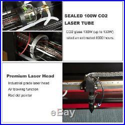 100W 700x500mm USB Port CO2 Laser Engraving Machine Engraver Cutter 28x 20