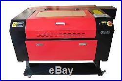 100W CNC CO2 750Laser Engraving Cutting Machine/Engraver cutter500700mm/Red dot
