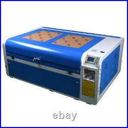 100W CO2 1060 Laser Engraving Machine Cutting Engraver & RECI Tube&5000W chiller