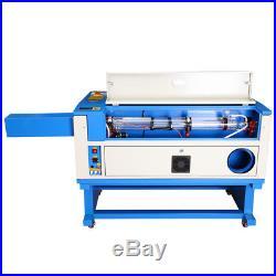100W CO2 Laser Engraving Cutting Machine Engraver Cutter 28x20 USB Water Pump