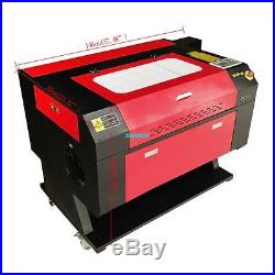 100W CO2 Laser Engraving Cutting Machine Engraver Cutter USB Port CE FDA