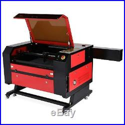 100W CO2 Laser Engraving Machine 28 x 20 With LightBurn RDworksV8 Engraver Cutter