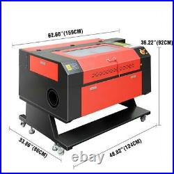 100W CO2 Laser Engraving Machine Engraver Cutter Electric Lifting USB 700500mm