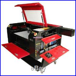 100W CO2 USB Laser Cutter Engraver Engraving Machine With Water Pump 700x500mm