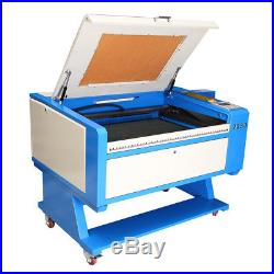 100W CO2 USB Laser Cutter Engraving Machine Red-Dot Position + Rotary Axis