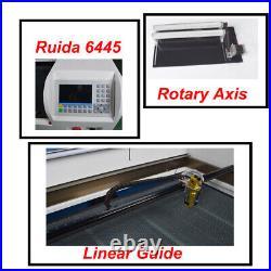 100W Co2 Laser Engraving Machine DSP 1060 Cutting Machine 6445G Ruida System US