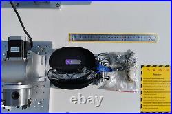 100W Raycus Fiber Laser Marking Machine Metal Non-Metal Engraving CNC Steel DIY