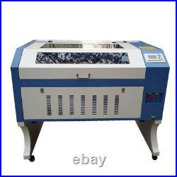 100w reci w2 laser engraving cutting machine 6090/9060 ruida 6442s controller