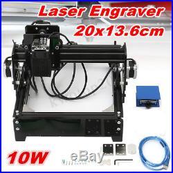10W USB Desktop CNC Mini Laser Engraving Machine Engraver Image Craft Printer