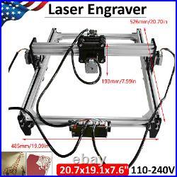 110-240V Laser Engraver Desktop DIY CNC Printer Engraving Machine Kit US Plug