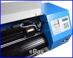 110V 54 Laser Stencil Cutting Cutter Plotter Cloth CO2 Laser Machine 40W