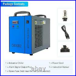 110V Industrial Water Chiller CW-5202 for CNC/ Laser Engraver Engraving Machines