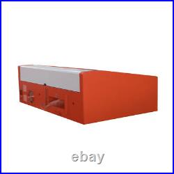 12x8 40W CO2 Laser Engraver Cutter with Exhaust Fan K40 USB Port