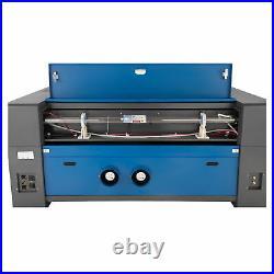 130W 55x35 CO2 Laser Engraver Cutter Engraving Machine w. 9L Chiller Lightburn