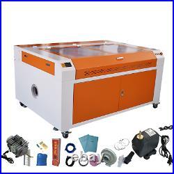 130W Laser Engraver CO2 Laser Engraving Cutting Cutter Machine 1400X900mm US