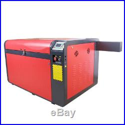 130W laser cutter engraving machine & CW5200 Chiller Motorize up and down table