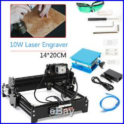 1420 10W CNC Laser Engraver USB Desktop DIY Marking Machine for Metal Stone Wood
