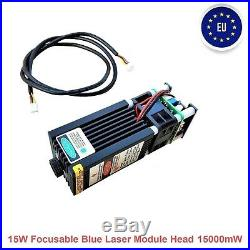 15000MW Blau Blue Laser Graviermaschine Cutter CNC Laser Engraving Machine DIY