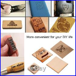 1500mW Bluetooth Laser Engraving Machine Depth Engrave F/ Wood/Plastic/Rubber IS