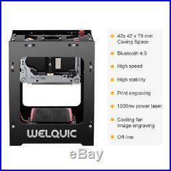 1500mW Bluetooth USB Laser Engraver DIY Printer Cutter Carver Engraving Machine