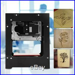 1500mW CNC Wood Router Laser Engraver Printer Cutter Cutting Machine New