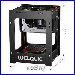 1500mW DIY Laser Bluetooth USB Engraver Cutter Engraving Carving Printer Machine