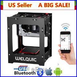1500mW High Speed Bluetooth 4.0 USB Laser Engraver DIY Engraving Printer Machine