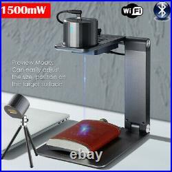 1500mW Portable LaserPecker Pro Desktop Auto Focus Laser Engraving Machine DIY