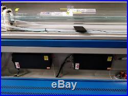 150W+150W HQ1610D CO2 Laser Engraving Cutting Machine Engraver cutter Dual Heads