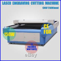 150W CO2 Laser Tube Laser Engraver Cutting Machine Laser cutter 1300 2500mm CE