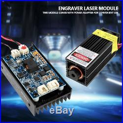 15W 450nm Blue Laser Module with Heatsink for DIY Laser Engraver Machine