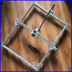 15W CNC USB Laser Engraving Metal Marking Machine Wood Cutting 100x100cm DIY Kit