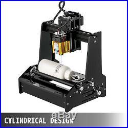 15W Cylindrical Laser Engraving Machine Metal Steel Iron Stone DIY Printer