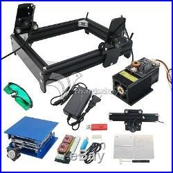 15W Laser Engraver Machine Metal Steel Iron Stone Engraving Image Printer New US