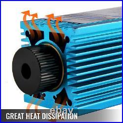 15W Laser Module Head 450nm 12V Focusable Blue For CNC Engraving Cutter Machine