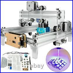 15W Mini Laser Engraver CNC Machine 190x130mm For Wood Leather Plastic Miller US