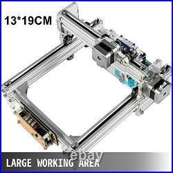 15W Mini Laser Engraver CNC Machine DIY 190X130mm For Wood Leather Plastic GRBL