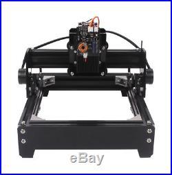 15W Mini Laser Engraving Machine Metal Steel Iron Stone Engraver DIY