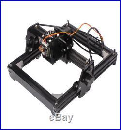 15W Mini Laser Engraving Machine Metal Steel Iron Stone Engraver DIY Printer