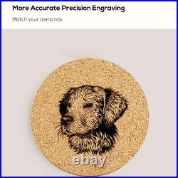 1600mW Laser Engraving Machine MIni DIY Logo Carving Printing Mark Making