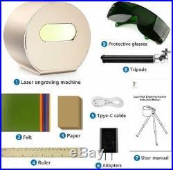 1600mw Portable Bluetooth Laser Graviermaschine Gravurmaschine Engraving Machine