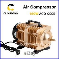 160W Laser Air Compressor Electromagnetic Pump for Cutter Engraver Machine 220V