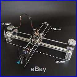 2 Axis DIY XY Drawing Machine Robot Auto Writing Signature Draft Laser Engraving