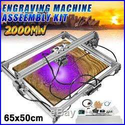 2000MW 6550cm DIY Laser Engraving CNC Carving Engraver Carved Printer Machine
