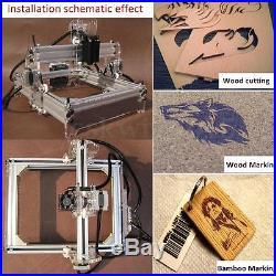 2000MW DIY Desktop Laser Engraving Engraver Machine CNC Cutter Printer 17x20cm