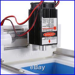 2000mW DIY USB Micro Laser Engraver Engraving Machine Printer Stamp Maker