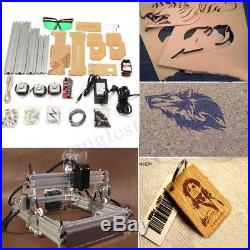 2000mW Laser Engraver Cutting Machine Desktop Mark Logo Engraving Printer